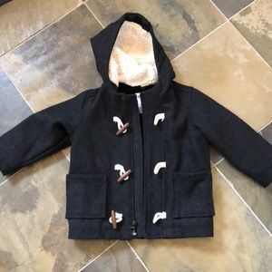 Boys 2T old navy coat with hood